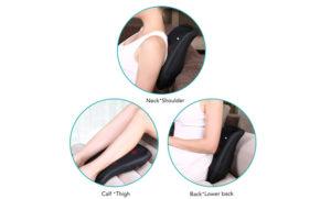 Naipo 3D Shiatsu Kneading Lower Back Massager