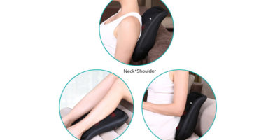 Naipo 3D Shiatsu Kneading Lower Back Massager