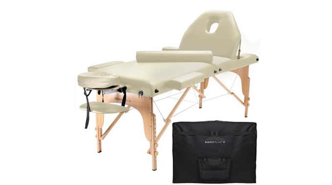 Saloniture professional review oil water proof - Massage table professional ...
