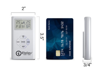 iReliev TENS + EMS Combination Unit