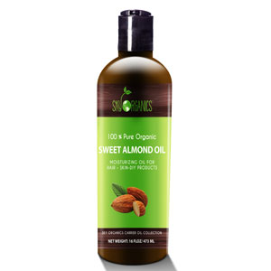 Best Sweet Almond Oil by Sky Organics