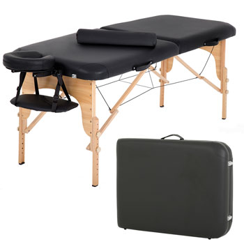 BestMassage Burgundy Premium Portable Massage Table
