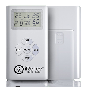 iReliev TENS and EMS Combination Unit Muscle Stimulator