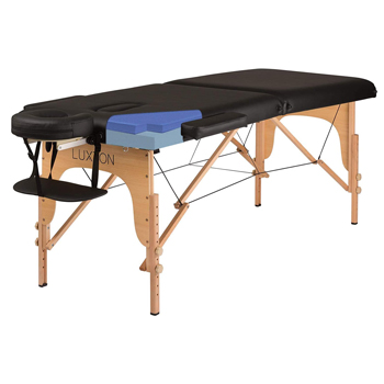 Luxton Home Premium Memory Foam Massage Table